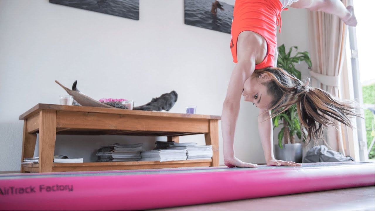 Air Track Gymnastics Mat Quizlet