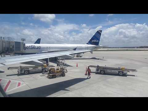 jetBlue Airways A320-232 Takeoff from Fort Lauderdale