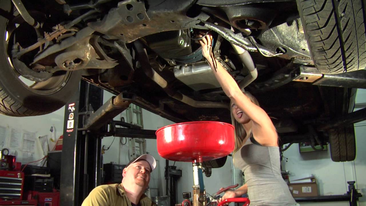 Ford Focus Oil Change >> Chevy Girl changes the oil - YouTube