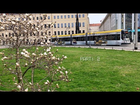 Dresden and its tram / Germany, March 2017 / Part: 2