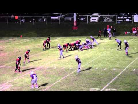 Tates Creek Freshman Football vs (George Rogers Clark HS) 10/12/15