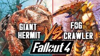 Giant Hermit vs Fog Crawler | Fallout 4 Far Harbor Battle Arena | Battle Request