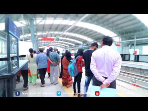 Metro in full swing from Aluva area