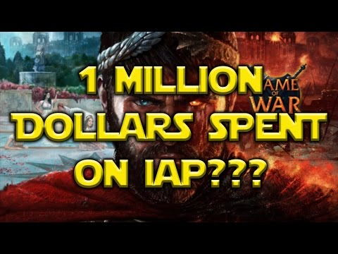Man Spends $1 MILLION Dollars On Game Of War!?