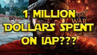 Man Spends $1 MILLION Dollars On Game Of War!?