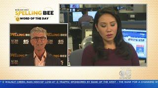 SPELLING BEE CHALLENGE:  KPIX 5 anchor Veronica De La Cruz takes the Spelling Bee Challenge