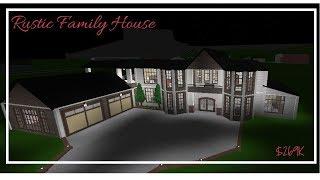 ROBLOX Bloxburg | Rustic House Speedbuild | $269k