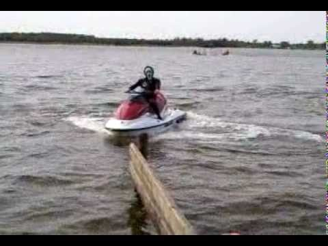 brp seadoo gti 130 2008 rotax, scream killer in action - YouTube