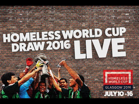 Homeless World Cup Draw 2016
