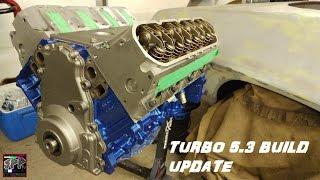 Turbo 5.3 LS Build Updates | Painting My Engine and Nova Progress