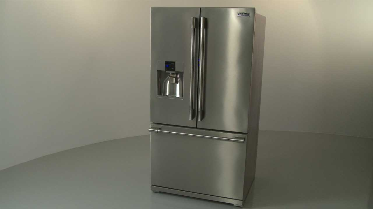 Frigidaire Refrigerator Disassembly (#FPBS2777RF6), Repair Help  YouTube
