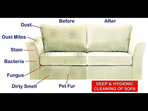 Upholstery Cleaning Results With Extraction Machine Before And - Sofa upholstery cleaning