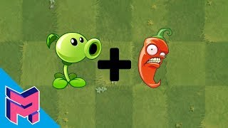 Plants vs Zombies Fusion Hack Animation ( Peashooter + Jalapeno )