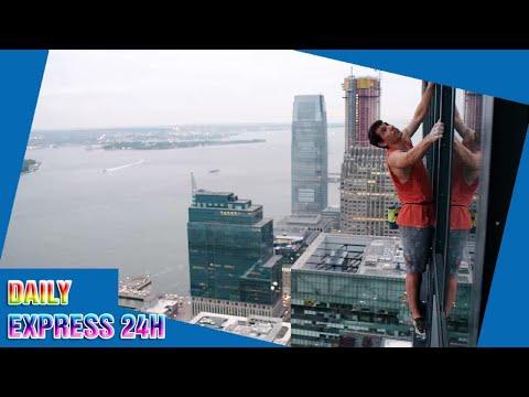 Alex Honnold Climbs Halfway Up a New Jersey Skyscraper