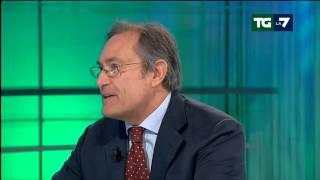 Il saluto in diretta di Enrico Mentana ad Armando Sommajuolo che lascia La7