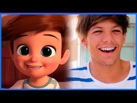 A DREAMWORKS CHARACTER INSPIRED BY LOUIS TOMLINSON?! • One Direction News