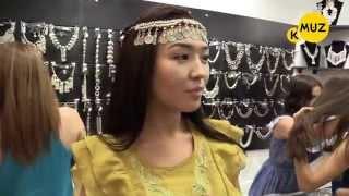 Как шла подготовка к Fashion Show  Bishkek Park-5 минут с Аминой Юсуровой