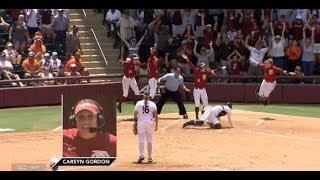 FSU Softball: Carsyn Gordon Walk-Off vs Auburn 2018 SportsCenter Segment