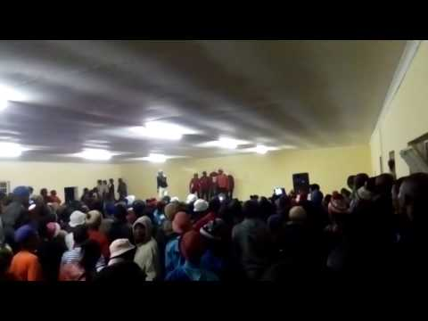 Happy bobyz performing umkhonto wesizwe Live 4rm eNtsikeni community hall