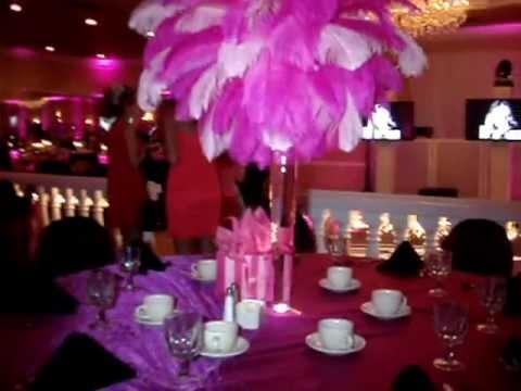 Victoria S Secret Themed Centerpiece Rentals By Sweet 16