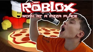 IK BEN DRONKEN | Work at a Pizza Place | Roblox