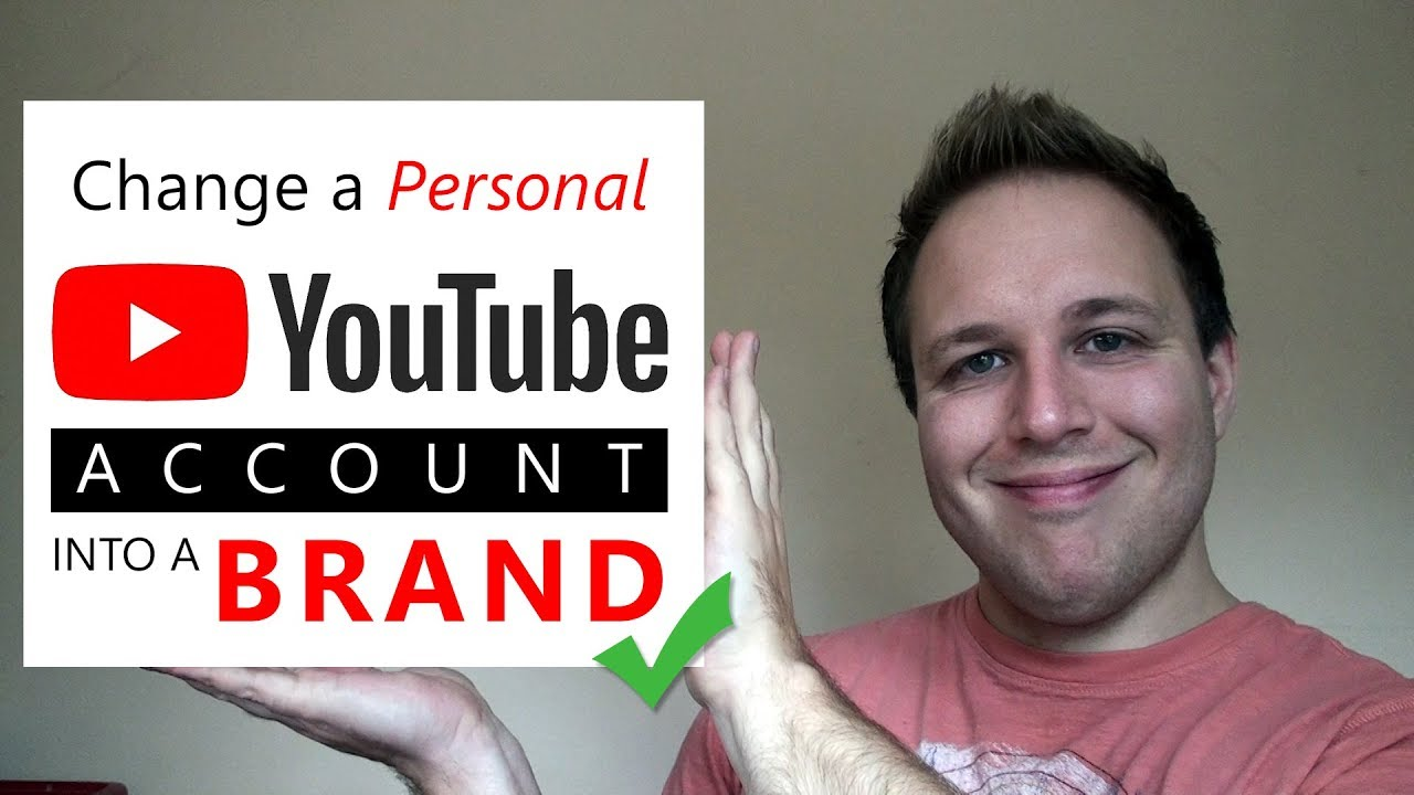 how to make a brand account on youtube