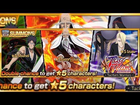 Bleach Brave Souls: Novos Personagens Tag Team, Shuhei Yamamoto e Izuru - Omega Play