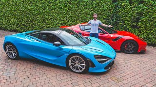 Collecting A New McLaren 720S In The F12 TDF!