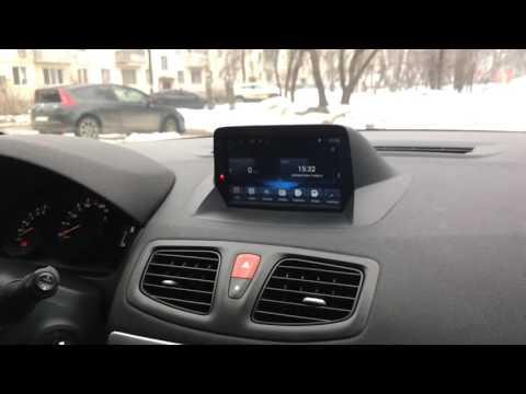ГУ Android Renault Megane Fluence 3