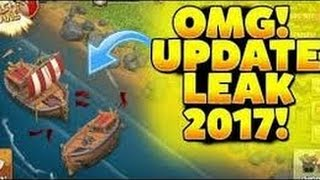 Coc May 2017 Update! Night Mode ! Boat ! CLASH OF CLANS! GIVEAWAY IN NEXT VIDEO 😍