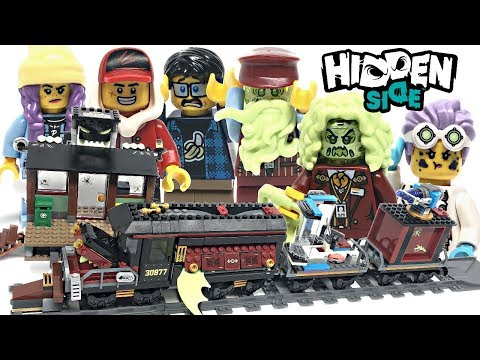 LEGO Hidden Side Ghost Train Express review! 2019 set 70424