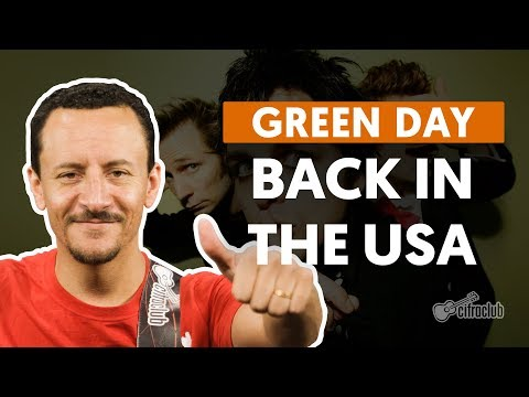 BACK IN THE USA - Green Day (aula de baixo)