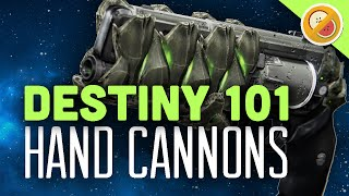 DESTINY 101 Crucible Tips and Tricks HAND CANNONS (PS4 Gameplay Commentary) Funny Moments