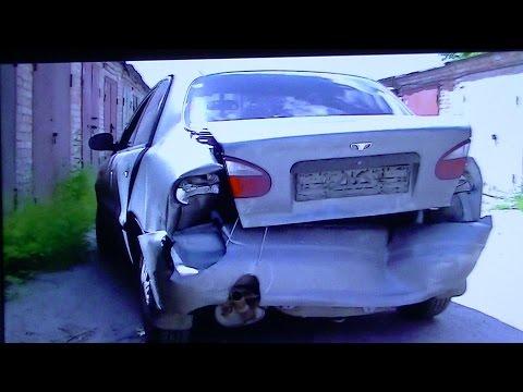 Ланос резко затормозил ))) Часть 1 Кузовной ремонт.