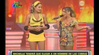 Esto es Guerra: Michelle Soifer es castigada - 15/02/2013