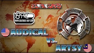 vuclip Audical VS Artsy | Daily Beatbox Battle ( 2015-09-12 )