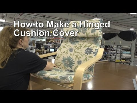 How to Make a Hinged Cushion Cover