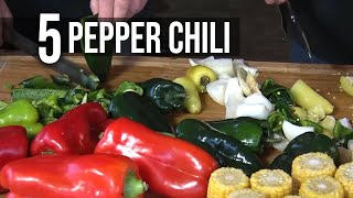 5 Pepper Chili recipe