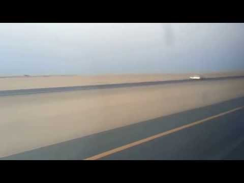 a journey by bus at saudi arabia