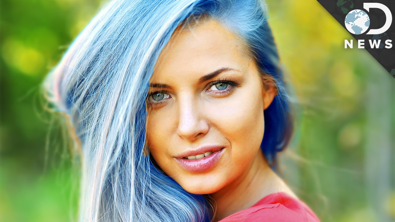 isn t hair naturally blue