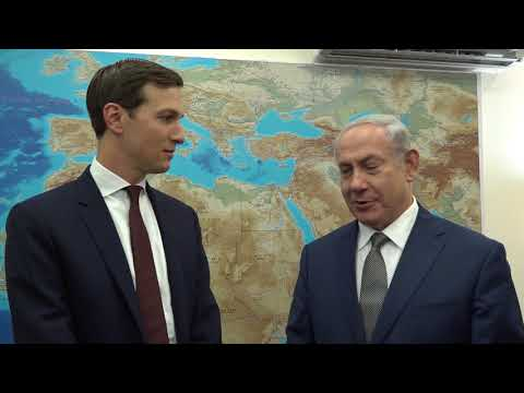 Special Advisor to the President Jared Kushner meets with PM Netanyahu