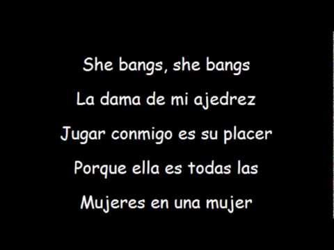 She bangs-Ricky Martin by Lyrics