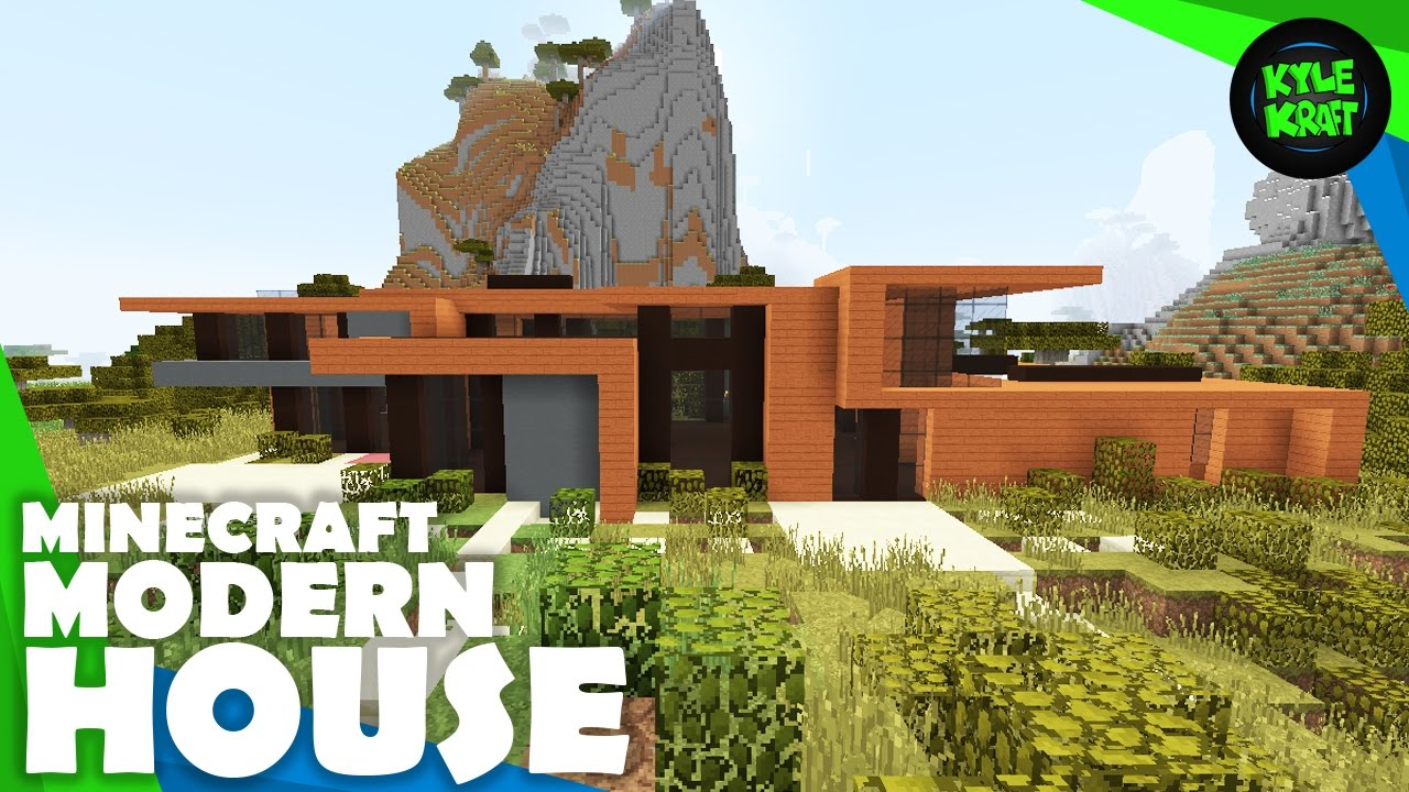 Minecraft Savannah Modern House Building Timelapse YouTube