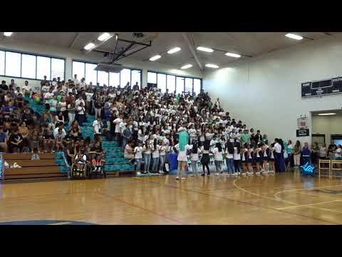 d69b5e8e555 Youtube Video · Waiakea High Freshman Sharks Class Cheer Homecoming ...