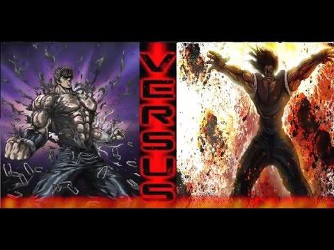 KENSHIRO VS YUJIRO HANMA |