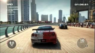 PC─XBOX─PS3 ─ GRID 2 GAMEPLAY ─ Dubai ─ Nissan Nismo Gt34 Z Tune ─ Race Series Round 2