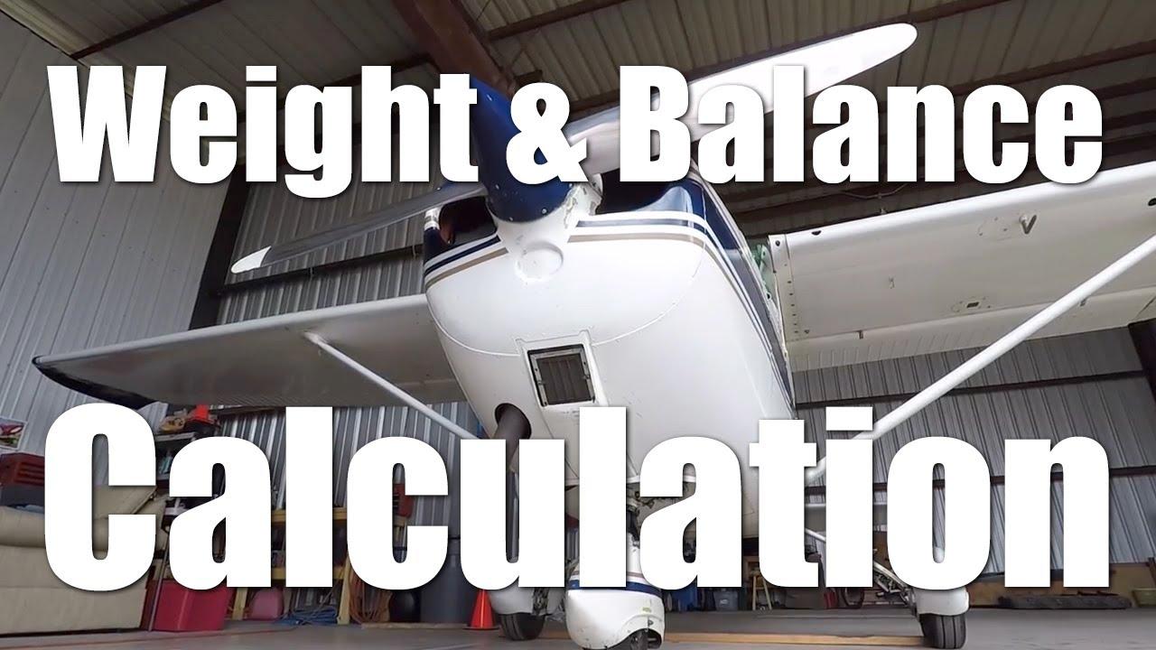Cessna 172 - Weight and Balance Calculation