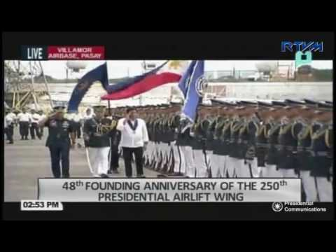 48th Anniversary of the 250th Presidential Airlift Wing (PAW) 9/13/2016