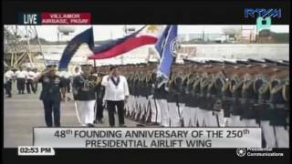 48th anniversary of the 250th presidential airlift wing paw 9 13 2016
