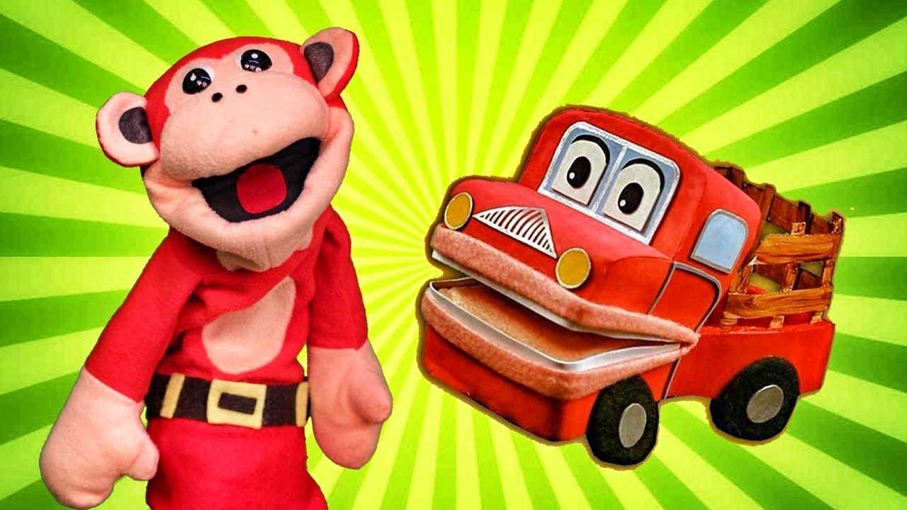 El Mono Sílabo y Barney El Camión - Las Mejores Canciones Infantiles - Lunacreciente